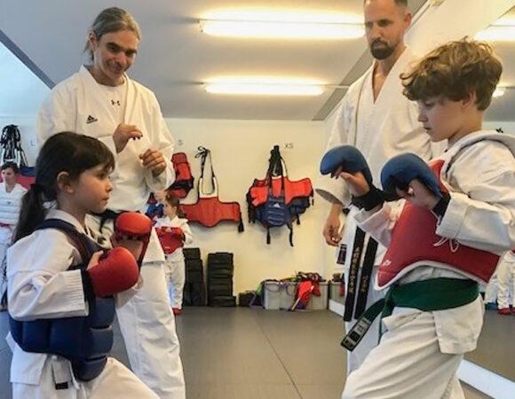 Karateschüler aus der Partnerstadt zu Besuch
