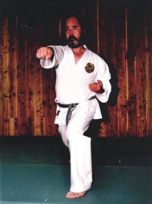 Shigeru Kimura Kampfpose | Kimura Shukokai International